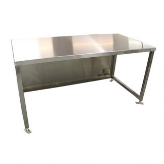 KryptoMax® Stainless Steel Bolt-to-Floor Intake Table product image